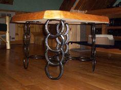 Horseshoe Leg Table