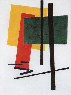 Suprematism - Kazimir Malevich
