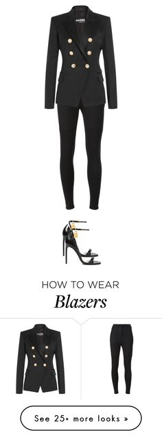"""""""twin"""" by pawcreations on Polyvore featuring Dolce&Gabbana, Balmain and Tom Ford"""
