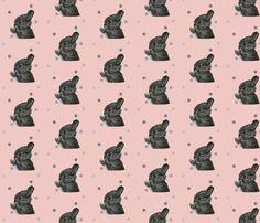 animals_real_rabbit fabric by the_magic_elephant on Spoonflower - custom fabric