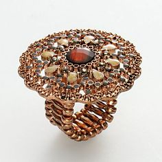 1928 copper tone ring.  i love 1928 jewelry