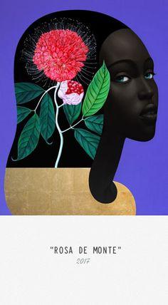 Slava Fokk After the Rain Arum Rosa de Monte Banana Jungle Queens series, oil and gold leaf on canvas Canvas Artwork, Canvas Art Prints, Oil On Canvas, Art And Illustration, Modern Art, Contemporary Art, Jungle Queen, Afro Art, Art Moderne