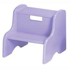 Roma Kids Step Stool in Several Colors Lavender - 105MDFLAV