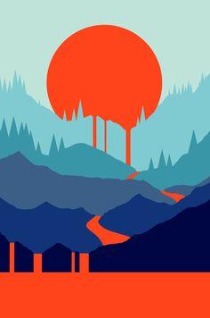 Red Sun Rising. *New Work* oct. 2017 MValeri