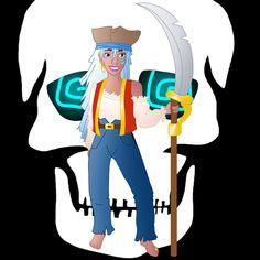 Disney Pirate: Kida by Willemijn1991.deviantart.com on @DeviantArt