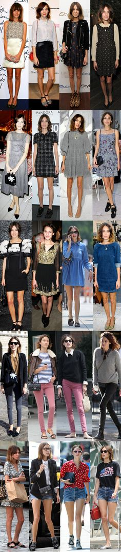 Alexa Chung - Blue is the New Fashion this Year