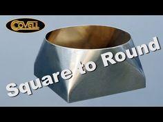 Rollation 3 - Square to Round - YouTube Sheet Metal Bender, Auto Body Work, Metal Workshop, Metal Bending, Welding Tips, Rounding, Metal Buildings, Dust Collection, Metal Working