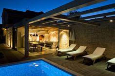 Villa con 1 stanza da letto in Sukosan a partire da  € a settimana. Con Piscina esterna privata (non riscaldata) e Balcone o terrazza.