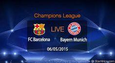 Bayern Munich vs Barcelona Live Soccer, Fc Barcelona, Sport Watches, Champions League, Munich, Sports, Bavaria, Hs Sports, Sport