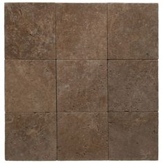 Noce 12X12 Tumbled Travertine Pavers Tile for Driveway, Pool Deck and Patio