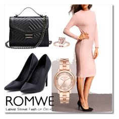 """Romwe #5/1"" by s-o-polyvore ❤ liked on Polyvore featuring Michael Kors"