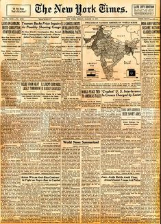 Pakistan's Rare Newspapers and Magazines: Old Newspapers of Pakistan. History of Pakistan through newspapers and Magazines. Major events in Pakistan through newspapers. Canadian History, Native American History, European History, Modern History, History Of India, World History, Art History, History Timeline, History Facts