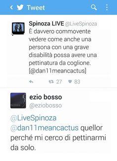Bosso batte Spinoza!