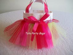 Oh my word....how CUTE is this bag! Tutu Party Bag @Etsy