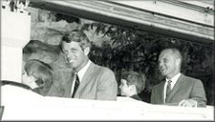 Robert Kennedy and John Glenn