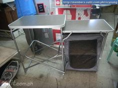 1000 Images About Foldable Camp Cooking Table On
