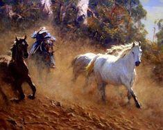 Western+painting+-+Robert+Hagan+1947+-+Australian+Impressionist+painter+-+Tutt'Art@+(17).JPG 660×528 piksel