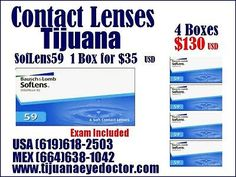 Contact Lenses BUY More SAVE More - $35 single Box OR 4 Boxes $130  USA (619)618-2503 Optometrist  #Contact, #Lenses, #More, #Save, #Single, #Boxes, #2503, #Optometrist