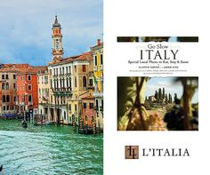 "Travel Italy with the help of our ""Go Slow Italy Guidebook"" available at L'Italia:"