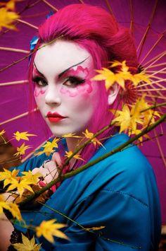 Freelance Writer, Poet, Artist — Geisha inspired look