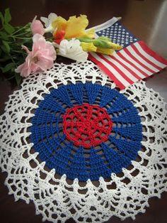 Lacy Crochet: Free Doily Patterns