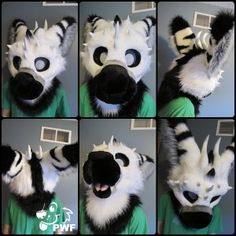 Winter Telephone Fursuit by PhoenixWolf I will make a angel dragon one day