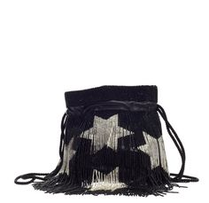 Saint Laurent Star Fringe Bucket Bag, from the Fall/Winter 2015 collection