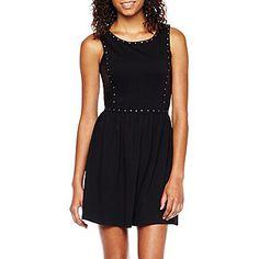Olsenboye® Sleeveless Studded Dress - JCPenney $30