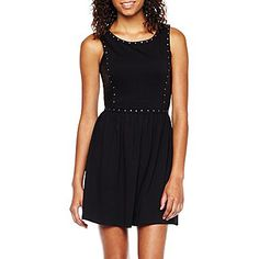 Olsenboye® Sleeveless Studded Dress - JCPenney $30