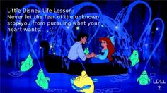 Little Mermaid Little Disney Life Lesson