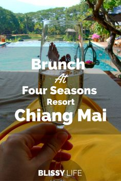 Enjoy an incredible Sunday brunch at Four Seasons Resort, just outside of Chiang Mai. It was totally a full day trip for us! Thailand Travel Tips, Visit Thailand, Asia Travel, Thailand Resorts, Food Travel, Travel Stuff, Toddler Travel, Travel With Kids, Travel Couple