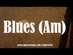 Blues (Am) Guitar Power Chords, Guitar Tutorial, Trip Hop, Backing Tracks, Blues Artists, Guitar Solo, Soloing, Armors, Guitar Lessons