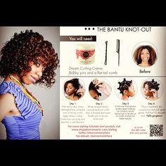 Natural hair | Bantu