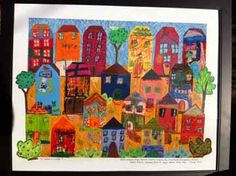 It Takes a Village Collage - made one for our preschool's silent auction it was a huge hit!