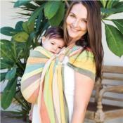 ea830c435fe hug-a-bub® Organic Traditional Ring Sling  - Eucalyptus Dreaming Mesh Ring