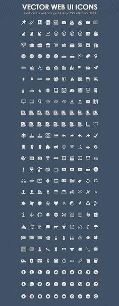 Vector Web UI Icons