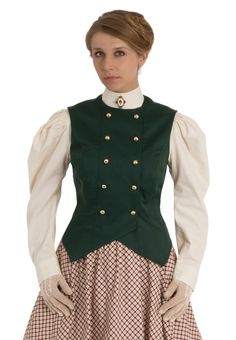 Double-Breasted Victorian Vest By Recollections