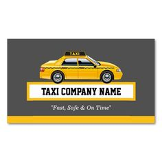 Create your own taxi business cards online all templates are licensed cap driver chauffeur yellow taxi business card reheart Choice Image