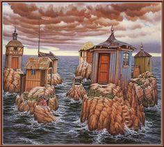 Archipelago - Jacek Yerka
