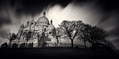 the sacre coeur....boy i do hope I'm spelling that right...right in the center of paris.