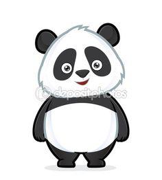 Pie de Panda — Ilustración de stock #61516793
