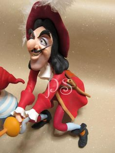 Captain Hook, Peter Pan #Disney #cake #toppers