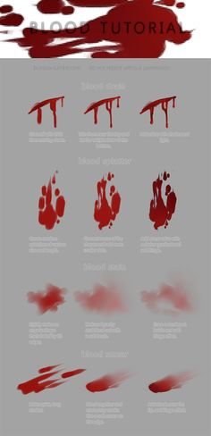 Poster designs blood tutorial digital art, how to draw digital art, digital art male, skin palette digital art, digital art. Digital Painting Tutorials, Digital Art Tutorial, Art Tutorials, Drawing Base, Painting & Drawing, Digital Art Beginner, Drawing Blood, Blood Art, Drawing Reference Poses