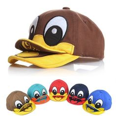Good-quality Baby Kids Cute Duck Design Baseball Caps Toddler Peaked Beret  Hats is cheap 990944dfe9e8