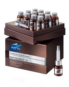 PHYTOLOGIST 15 by Phyto PHYTO   Add to wishlist PHYTOLOGIST 15 ( 12 x 3.5ml ) £79.00   1   ADD TO BAG   Write a Review WHY IT'S CULT A pioneering anti-hair loss treatment, Phyto's PHYTOLOGIST 15 has 15 biologic actions which work to inhibit loss while stimulating hair growth to restore volume and 'bounce' to thinning hair that's lost its 'oomph'.