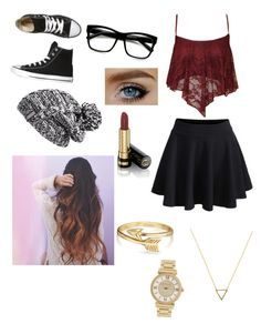 """""""Spring Outfit"""" by its-sarah02 ❤ liked on Polyvore featuring Converse, Papermoon, Zella, ZeroUV, Gucci, Bling Jewelry, Wanderlust + Co and Michael Kors"""