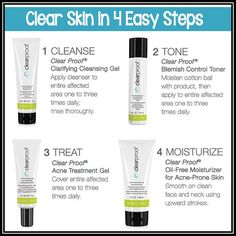 Mary Kay Clear Proof Acne System skincare
