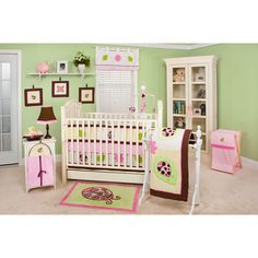 Shop for the Pam Grace Creations Ladybug Lucy 10pc Nursery in a Bag Crib Bedding Set for less at Walmart.com. Save money. Live better.