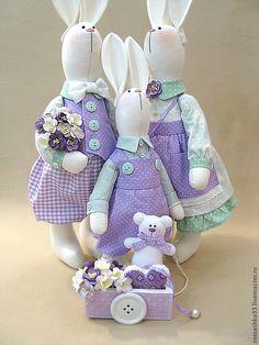 Без заголовка. Обсуждение на LiveInternet - Российский Сервис Онлайн-Дневников Sewing Toys, Sewing Crafts, Sewing Projects, Pet Toys, Doll Toys, Dolls, Bunny Crafts, Easter Crafts, Sewing Stuffed Animals