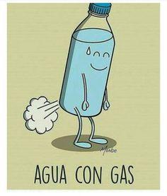 agua con gas   Para más imágenes graciosas visita: https://www.Huevadas